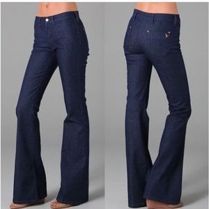 MiH Marrakesh Mid Rise Flare Jeans NWT